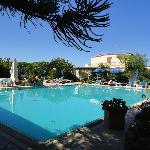 vista della piscina