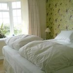 super king continental style bed en-suite; luxury boutique style cottage room