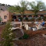 The Historic Hotel was built in 1916 and is one type of the many lodging options at Ojo.