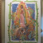local painter's Virgen of the Agave