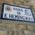a promenade in honor of Ernest Hemingway