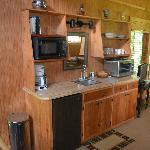 "Creekside Cabin ""Mini Kitchen"""