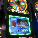 The Wheel of Fortune slot. My favorite!!