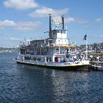 Queen of Seattle Padle Wheel Cruise