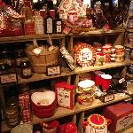 inside the Cracker Barrel - gift shop