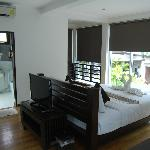 Pool Villa (upstairs room)