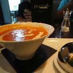 lovely homemade soup.