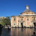 Basílica e Plaza de la Virgen