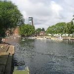 Stratford in the sunshine