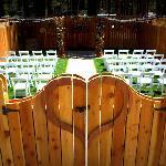 Al Fresco 1181 Wedding Venue - Ceremony