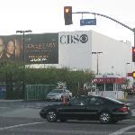 CBS across the street