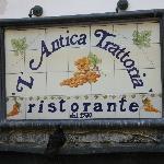 Foto de L'Antica Trattoria