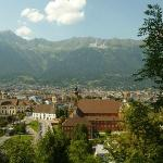 view from the Tirol Panorama