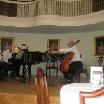 Music in the lovely Pump room Bath