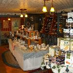 Wine, Cheese and gift shop