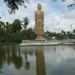 Buddhist tsunami memorial