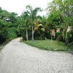 Road coming into front of Villa del Sol