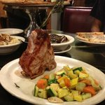 Yummy Veal Chop at Mario's