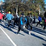 Break away 5k race to end domestic violence for heartly house @ Baker Park.
