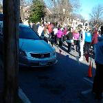 Break away 5k race to end domestic violence for heartly house at Baker Park.