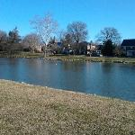Enjoying this beautiful life God has blessed me with at Baker Park