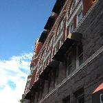 Historic building at the Keating