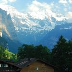 View of valley from Wengen