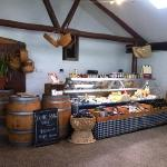 Deli cafe cheese cabinet