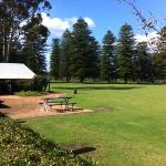 View to Cellar Door from cafe