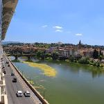 View of Arno River from room