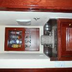 Mini-bar in the room