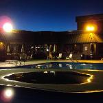 The Pool after sunset