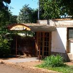 entrada del hostel