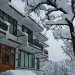 The Manali Lodge in Winter