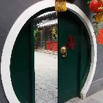 traditional moon shape door