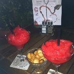 Delicious strawberry daiquiries