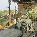 View roof terrace