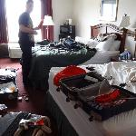 Our Room - After we had trashed it!
