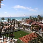 die lebhafte Playa de Palma