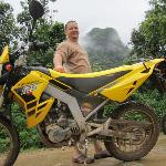 Me and my bike on Uncle Toms Tour