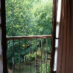 Vistas desde el balcón...