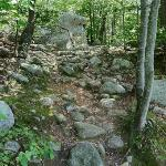 a section of the Babson Boulder Trail...rocky terrain