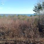 An excellent view of Gloucester Harbor from a trail