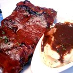 Hot, flavorful, delicious St. Louis Style Ribs - AMAZING!