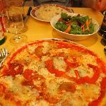 Pizza y Risotto