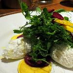 Beetroot & Goat curd