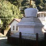 Ghoom Monastery - Yiga Choeling Buddhist Monastery - stupa in memory of Lama Ven Dhardo Tulku.