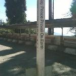 "A Peace Pole is a monument that displays the message ""May Peace Prevail on Earth"""