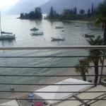 vista dalla camera dell'albergo Val di Sogno
