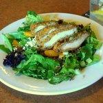 Pecan Encrusted Chicken Salad